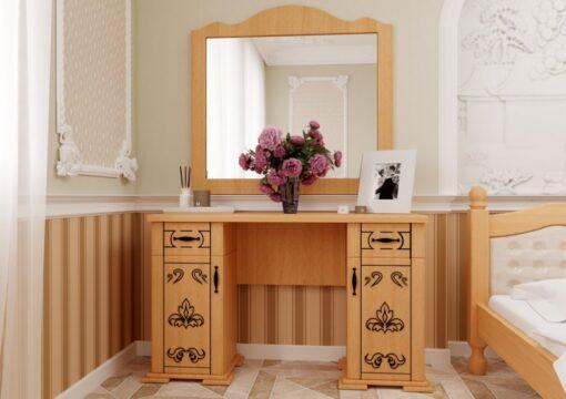 Туалетный столик Магнолия ольха ЧДК