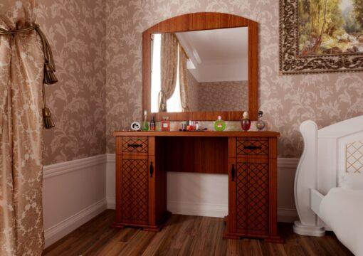 Туалетный столик Женева орех ЧДК