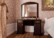 Туалетный столик Женева темный орех ЧДК