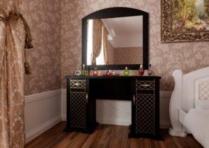Туалетный столик Женева венге ЧДК