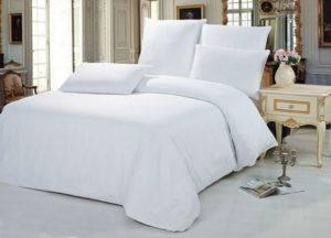 купить постельное белье WHITE белый