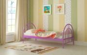 детская кровать алиса люкс фиолетовая купить