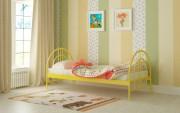 детская кровать алиса люкс желтая купить