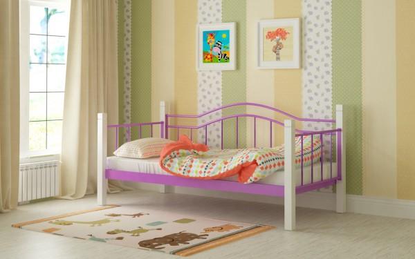 кроватка детская Алонзо фиолетовая