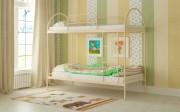 двухъярусная кровать детская сеона бежевая