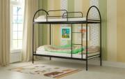 двухъярусная кровать детская сеона черная