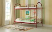 двухъярусная кровать детская сеона красная
