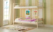 двухъярусная кровать детская емма бежевая