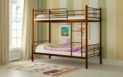 двухъярусная кровать детская емма коричневая