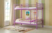 двухъярусная кровать детская емма фиолетовая