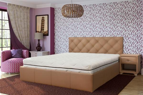 кровать на подиуме Лира