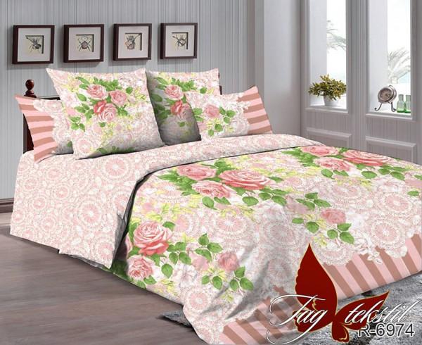 купить постельное белье ранфорс R-6974