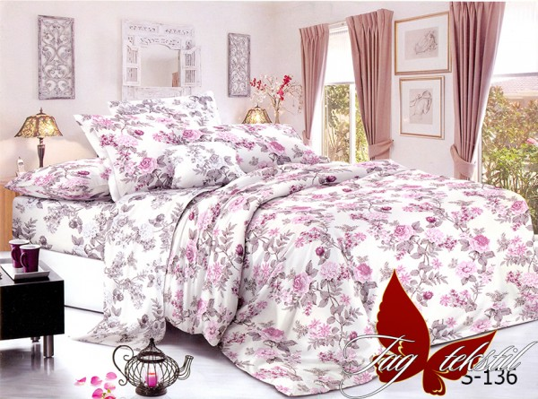купить постельное белье сатин S136
