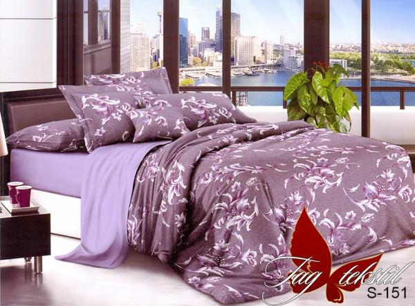 купить постельное белье сатин S151