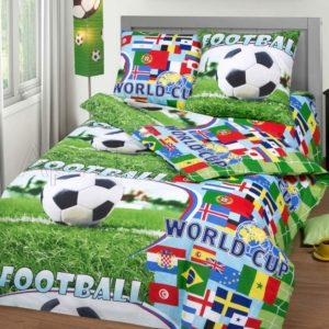 постельное белье для мальчика Спорт бязь ГОСТ