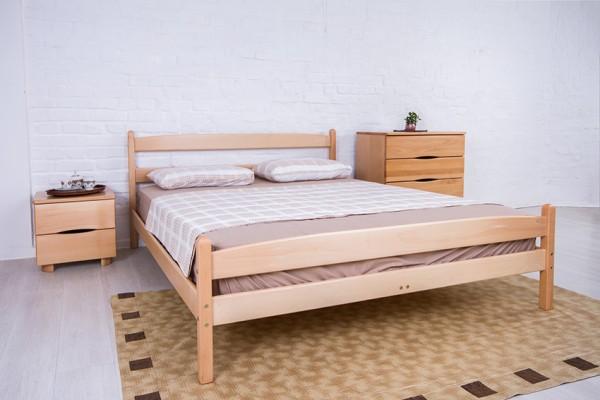 кровати из натурального дерева Лика