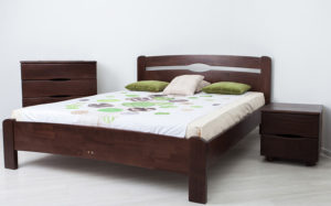 купить кровать деревянную Нова-без-изножья-Олимп