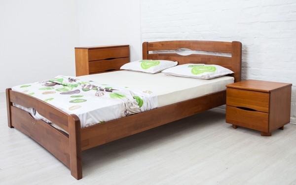 купить кровать из дерева Нова-с-изножьем-Олимп