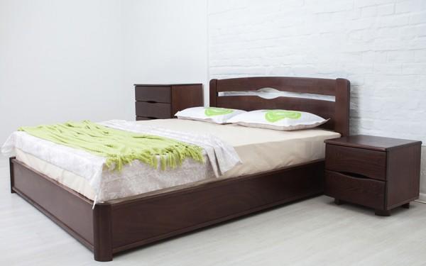кровать деревянная Нова с механизмом