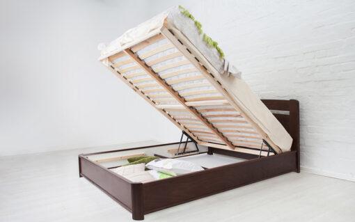 кровать Нова с подъемной рамой деревянная