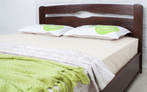кровать Нова деревянная двуспальная
