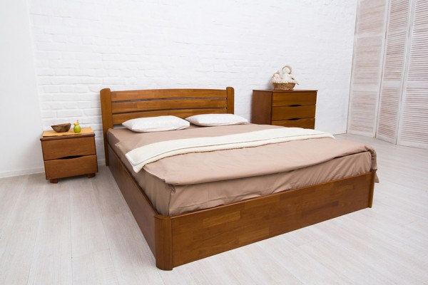 купить деревянную кровать София-V-с-механизмом-Олимп-Аурель