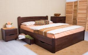 деревянные кровати София V с ящиками
