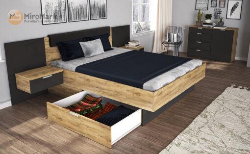 кровать Luna выдвижные ящики