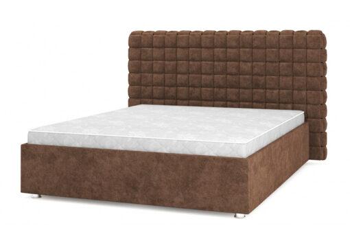 кровать подиум Квадро Люкс 11 Dark Brown