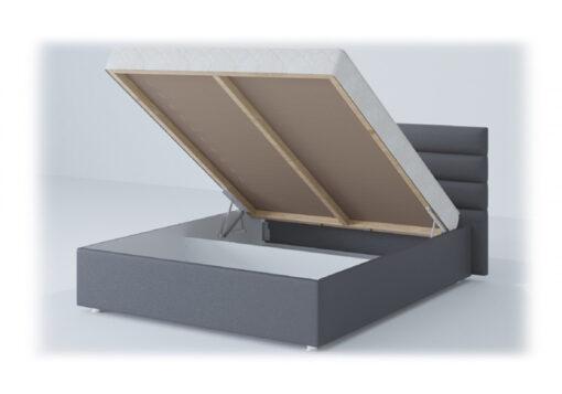 подиумная кровать Лидер с матрасом