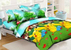 купить детское постельное белье Покемоны