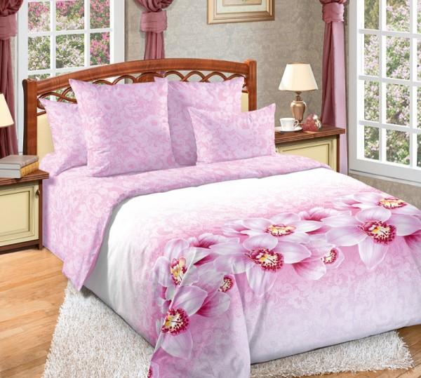 купить постельное белье перкаль Аромат орхидей