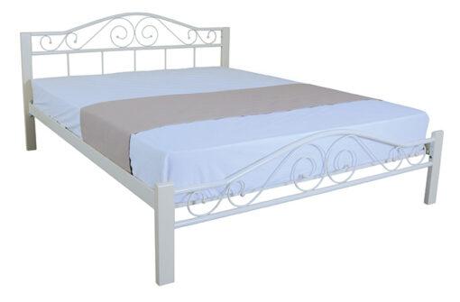 железная кровать Кровать Элис Люкс Вуд Melbi
