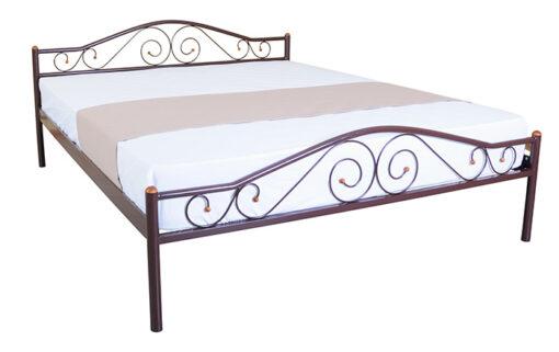 двухспальная металлическая кровать Элис Люкс Melbi
