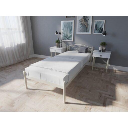 Кровать Элис односпальная беж Melbi