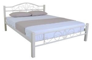 купить металлическую кровать Лара Люкс Вуд Melbi