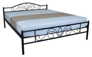 Кровать железная Лара Люкс Melbi недорого