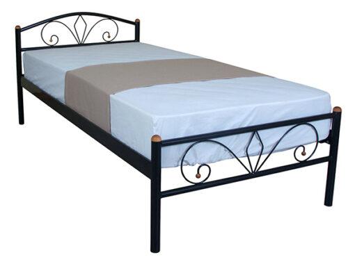 металлическая кровать Лара Люкс Melbi односпальная недорого