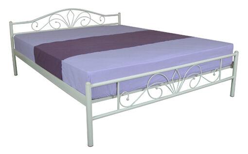 металлическая кровать Лара Люкс Melbi светлая