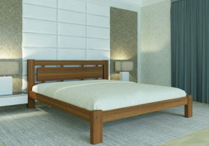 Кровать-Сакура-Мекано-деревянная