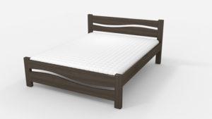 Кровать Волна венге