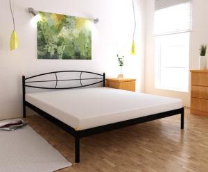 Кровать-металлическая--Аура