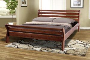 Кровать Ретро 2 массив сосны Микс мебель