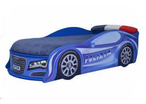 Кровать-машина-Audi-полиция