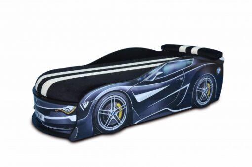 Кровать-машина-BMW-Turbo-черная