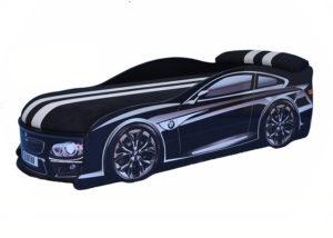 Кровать-машина-BMW-черная