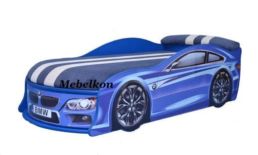 Кровать-машина-BMW-синяя