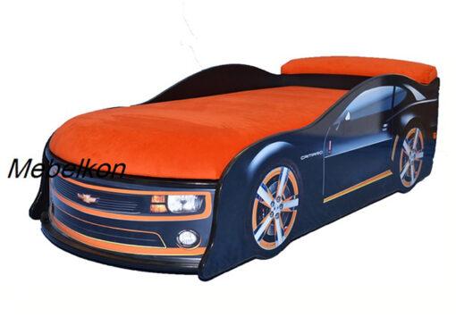 Кровать-машина-Camaro-черная