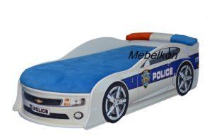 Кровать машина Camaro полиция