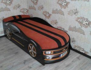 Кровать машина Camaro реальное фото